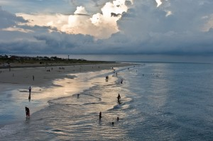 Tybee Island Beach in Savannah, GA